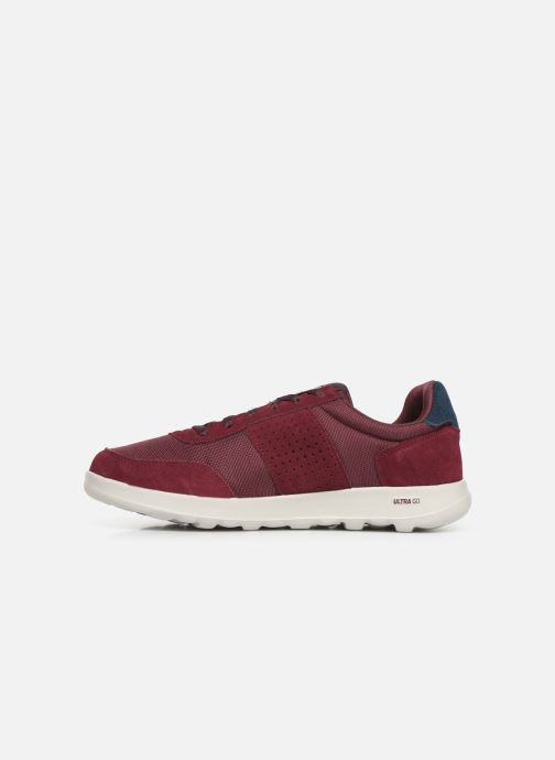 Baskets Skechers Adapt UltraMotive Bordeaux vue face