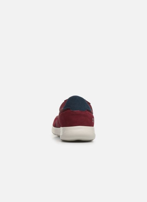 Baskets Skechers Adapt UltraMotive Bordeaux vue droite