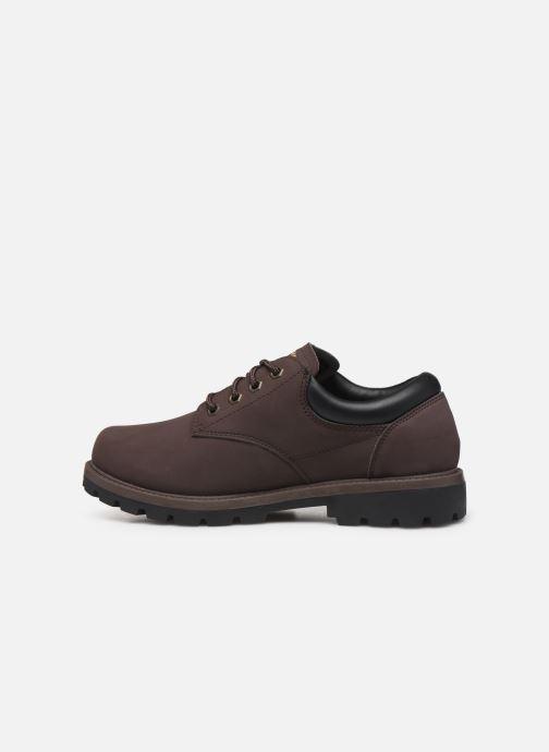 Chaussures à lacets Skechers Toric/Bereno Marron vue face