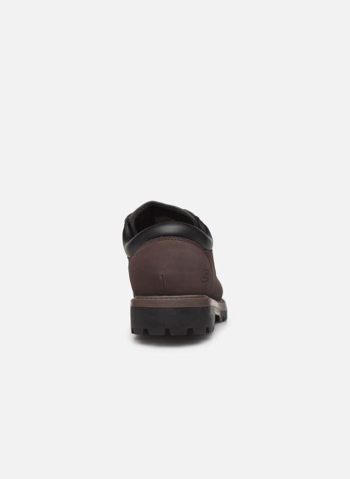 Chaussures à lacets Skechers Toric/Bereno Marron vue droite