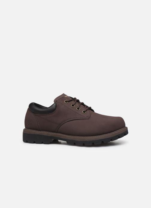Chaussures à lacets Skechers Toric/Bereno Marron vue derrière