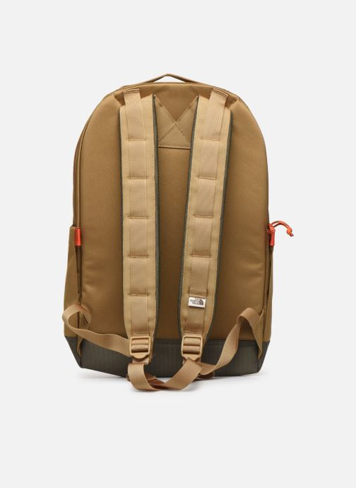Sacs à dos The North Face DAYPACK Vert vue face
