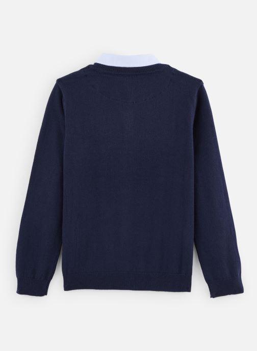 Vêtements Jean Bourget Pull JP18033 Bleu vue bas / vue portée sac