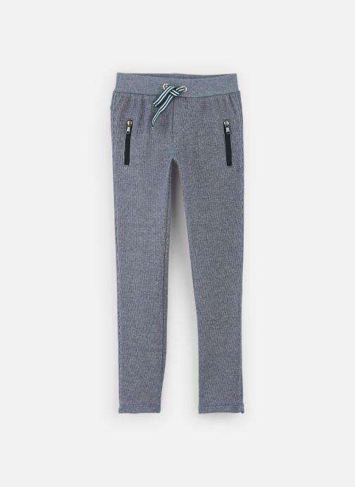 Pantalon Casual - Pantalon Maille Bleu Indigo - Ta
