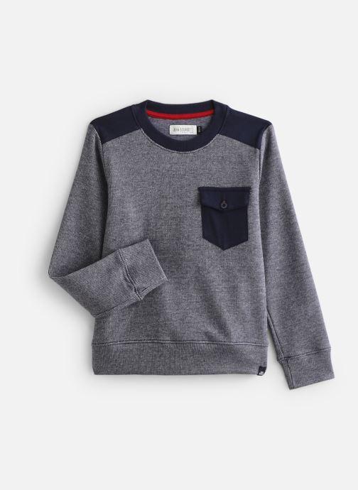 Vêtements Jean Bourget Sweat JP15013 Bleu vue détail/paire