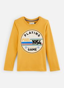"""Kleding Accessoires T-Shirt """"Gaming"""" Ocre"""