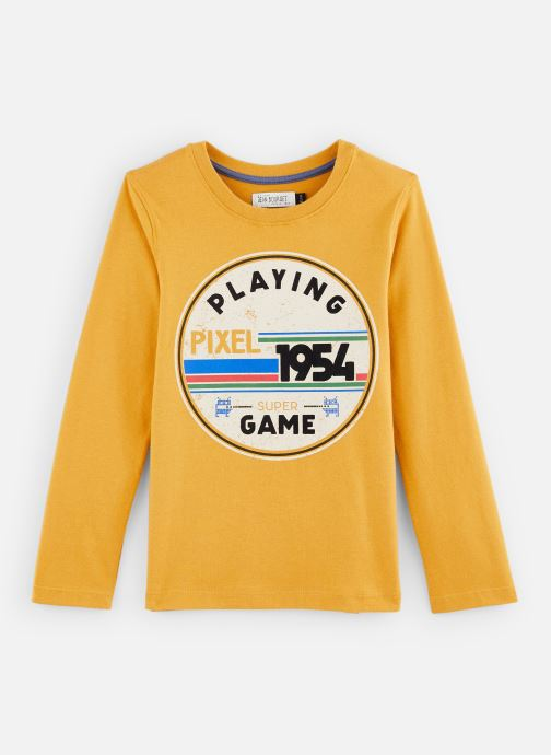 "T-shirt - T-Shirt ""Gaming"" Ocre"