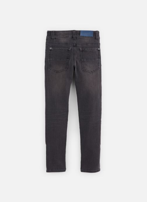 Jean Bourget Pantalon droit - Pantalon Jean fratté gris foncé - (Gris) - Vêtements chez Sarenza (381910) gkfu1