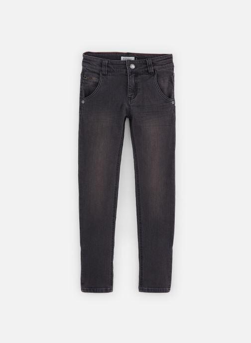 Pantalon droit - Pantalon Jean fratté gris foncé -