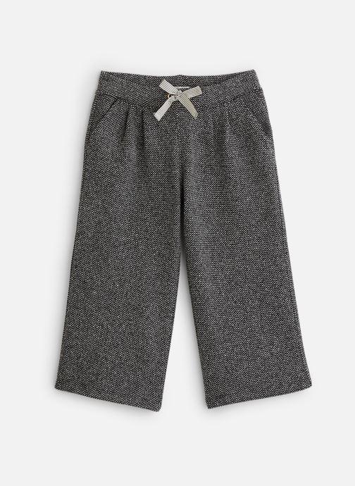 Kleding Accessoires Pantalon ample maille noir - Taille élastiquée