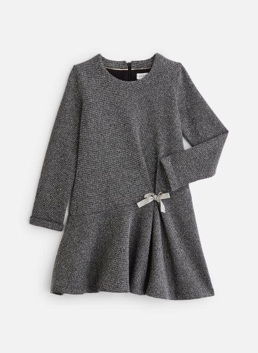 Kleding Accessoires Robe maille gris ardoise - Jupe volantée