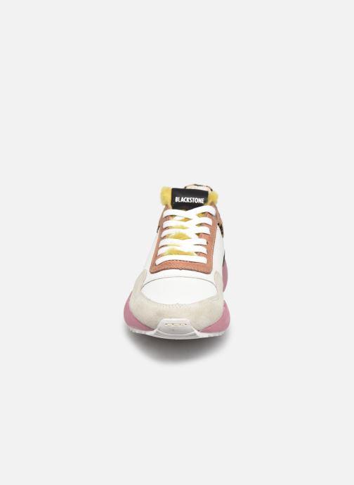 Baskets Blackstone SL91 Blanc vue portées chaussures