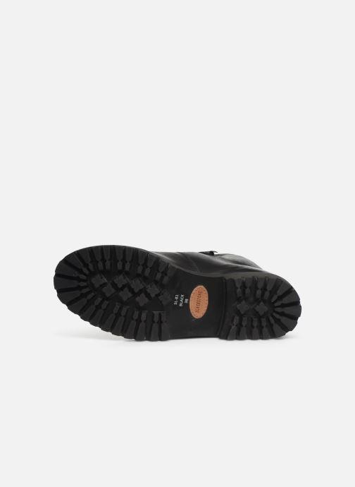 Bottines et boots Blackstone SL81 Noir vue haut