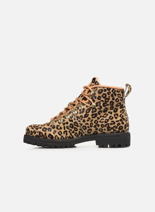 Bottines et boots Blackstone SL80 Jaune vue face