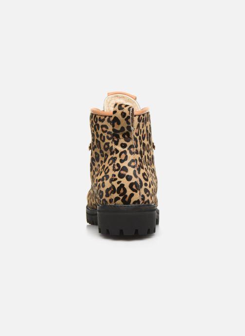 Bottines et boots Blackstone SL80 Jaune vue droite