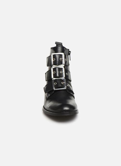 Bottines et boots Georgia Rose Clelia Noir vue portées chaussures
