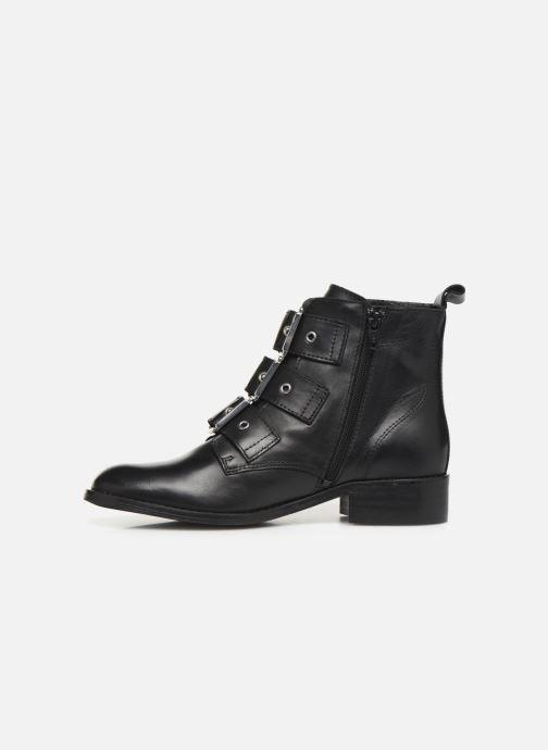 Bottines et boots Georgia Rose Clelia Noir vue face