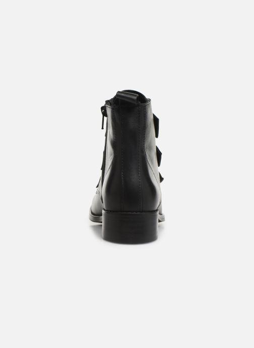 Bottines et boots Georgia Rose Clelia Noir vue droite