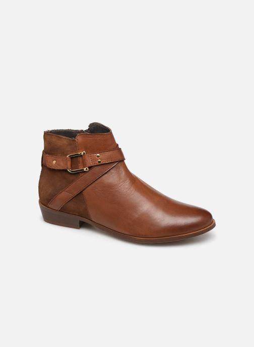 Bottines et boots Georgia Rose Cira Marron vue détail/paire