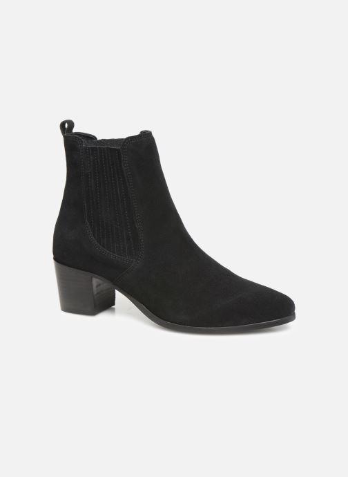 Bottines et boots Georgia Rose Chuta Noir vue détail/paire