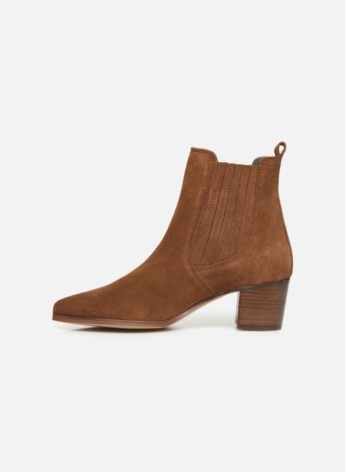Bottines et boots Georgia Rose Chuta Marron vue face