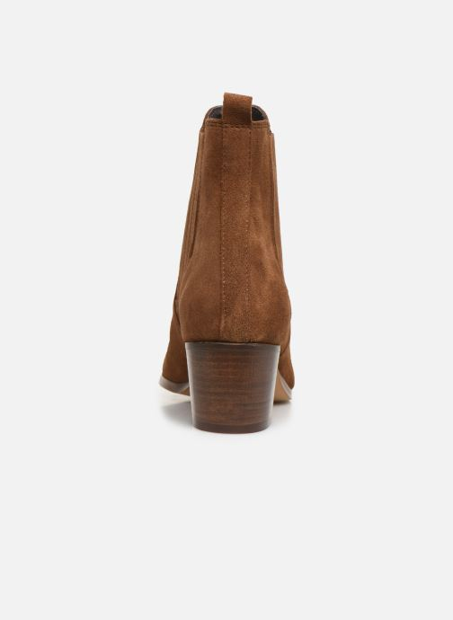 Bottines et boots Georgia Rose Chuta Marron vue droite