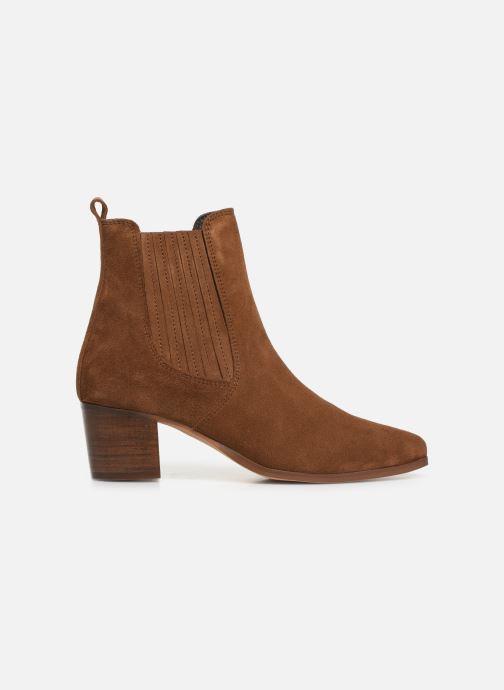 Bottines et boots Georgia Rose Chuta Marron vue derrière