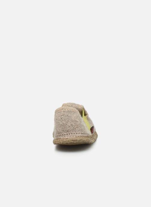 Pantoffels Giesswein Teunz Beige rechts