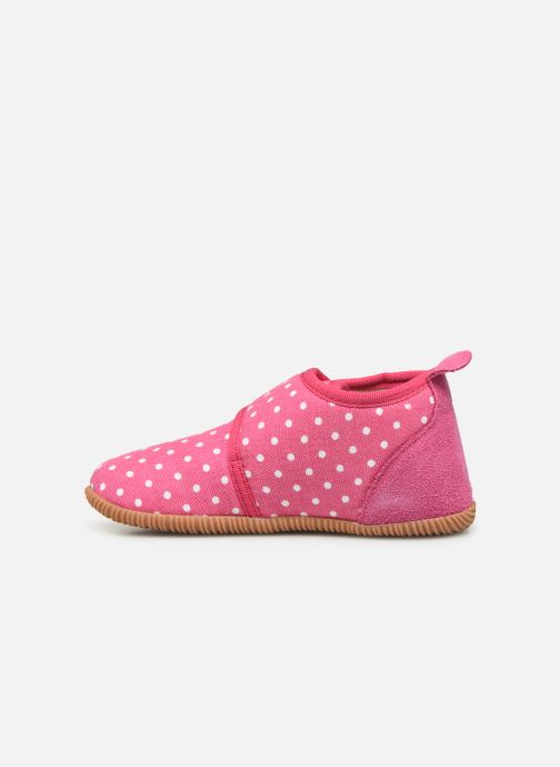 Pantofole Giesswein Stans - Slim Fit Rosa immagine frontale