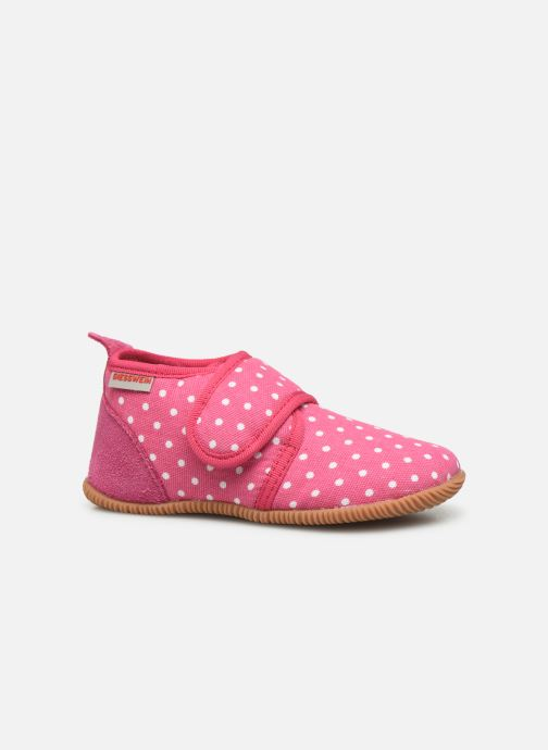 Pantofole Giesswein Stans - Slim Fit Rosa immagine posteriore