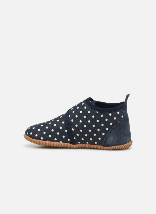 Pantofole Giesswein Stans - Slim Fit Azzurro immagine frontale