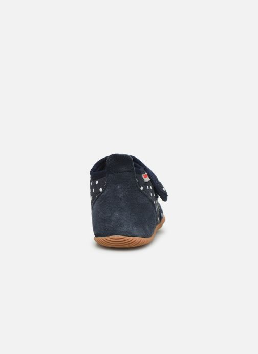 Pantofole Giesswein Stans - Slim Fit Azzurro immagine destra