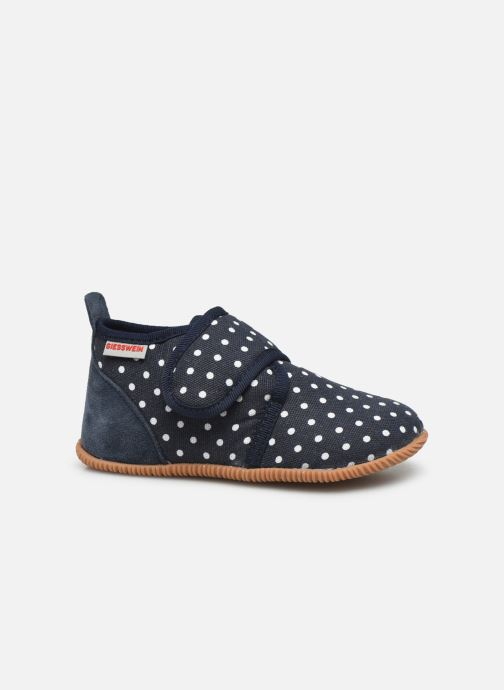 Pantofole Giesswein Stans - Slim Fit Azzurro immagine posteriore