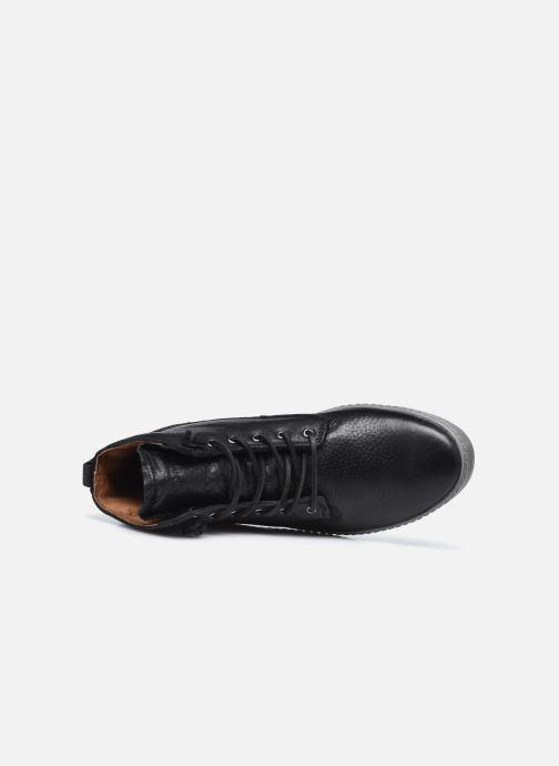 Sneaker Blackstone AM02 schwarz ansicht von links