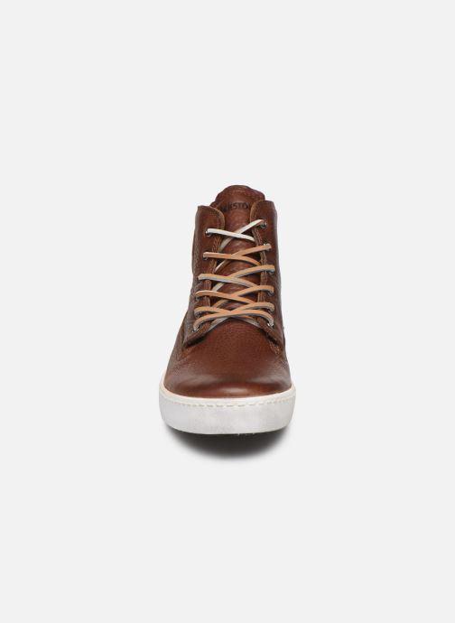 Baskets Blackstone AM02 Marron vue portées chaussures
