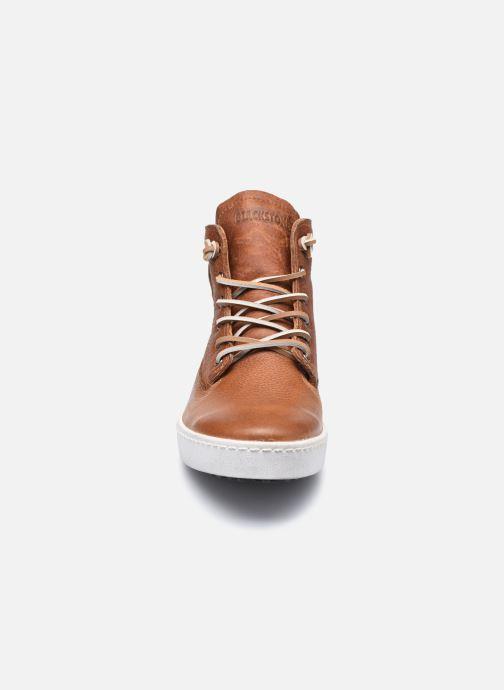 Sneaker Blackstone AM02 braun schuhe getragen