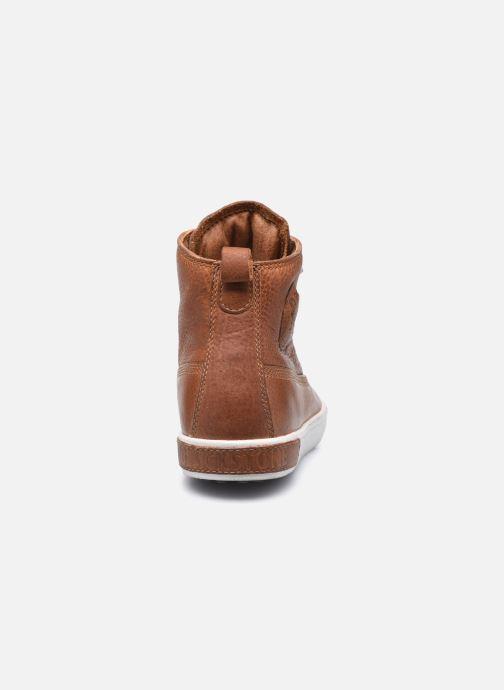 Sneaker Blackstone AM02 braun ansicht von rechts