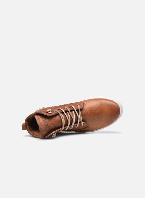 Sneaker Blackstone AM02 braun ansicht von links