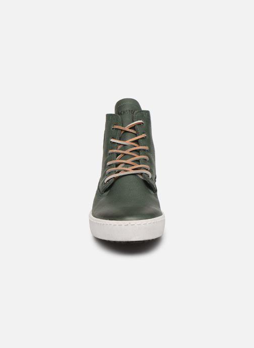 Baskets Blackstone GM06 Vert vue portées chaussures