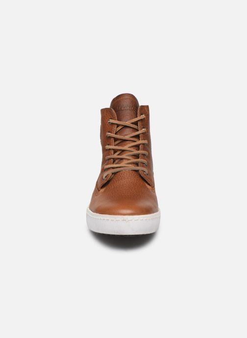 Baskets Blackstone GM06 Marron vue portées chaussures
