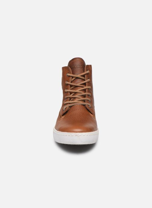 Sneaker Blackstone GM06 braun schuhe getragen