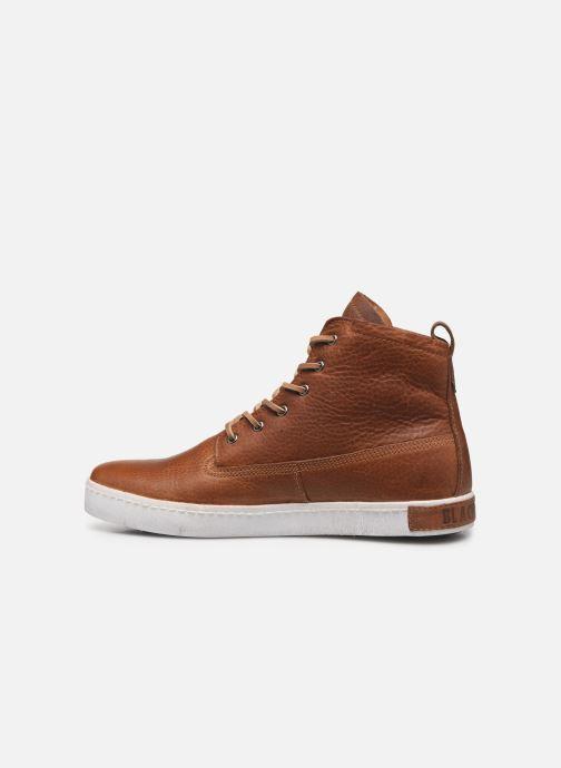 Sneaker Blackstone GM06 braun ansicht von vorne