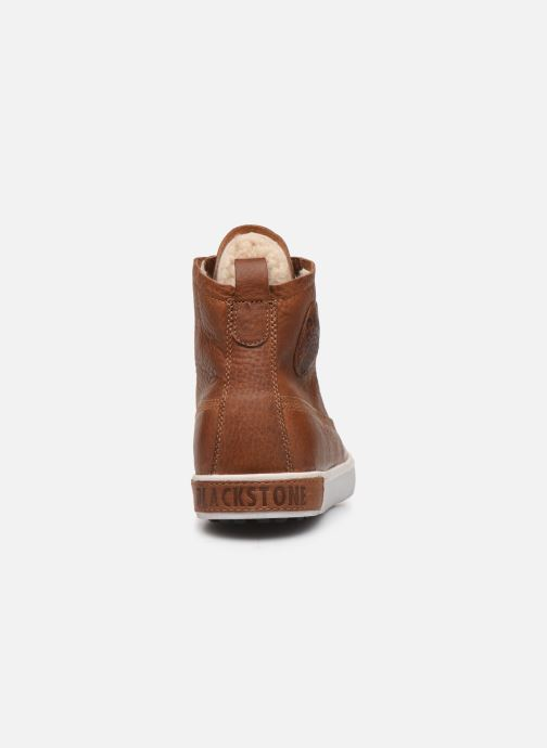 Sneaker Blackstone GM06 braun ansicht von rechts