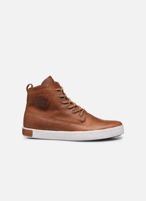 Sneaker Blackstone GM06 braun ansicht von hinten