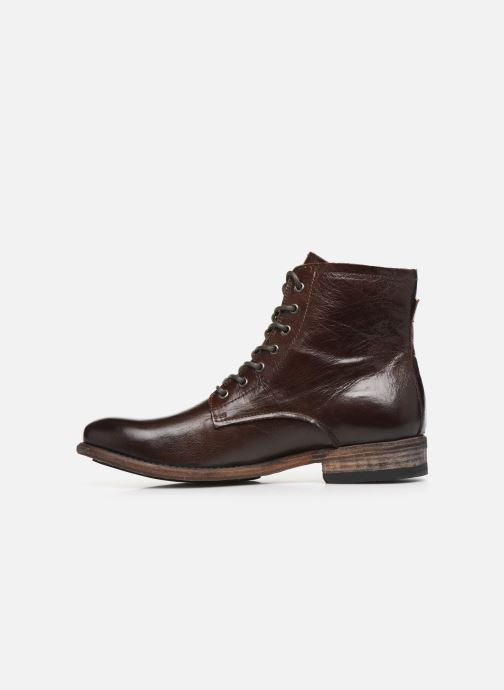 Ankle boots Blackstone IM26 Brown front view