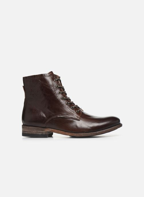 Ankle boots Blackstone IM26 Brown back view