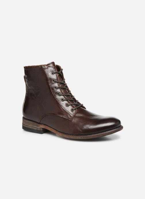 Ankle boots Blackstone IM26 Brown detailed view/ Pair view