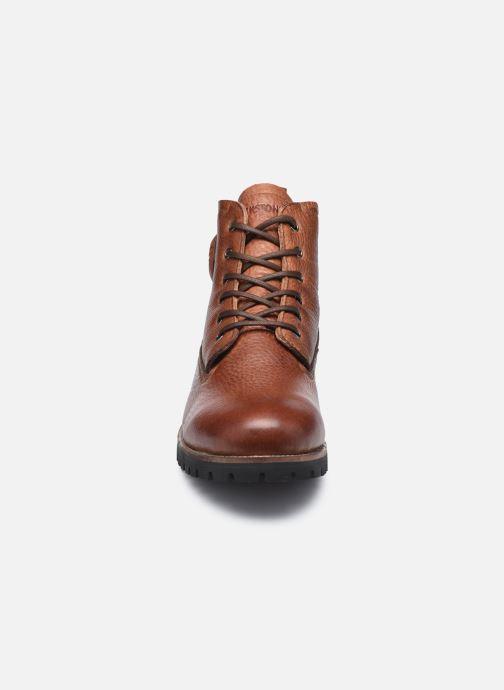 Stiefeletten & Boots Blackstone OM60 braun schuhe getragen