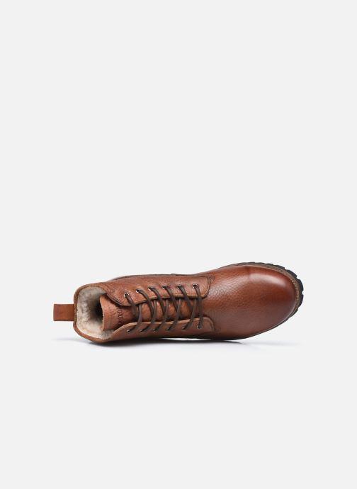 Stiefeletten & Boots Blackstone OM60 braun ansicht von links