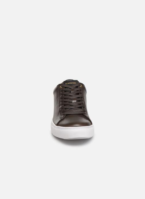 Baskets Blackstone SG30 Marron vue portées chaussures